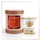 SEDA France Epices de Saison Classic Toile Petite Ceramic Candle (sf-00130epi) | James Anthony Collection