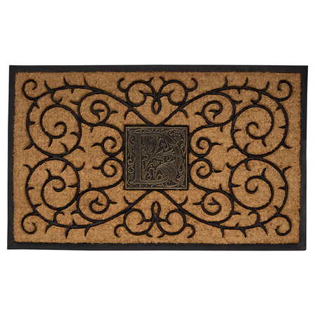 Whitehall Personalized Monogram Coir Door Mat - UPC: 719455411568 | James Anthony Collection