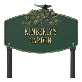 Whitehall Butterfly Blossom Garden Personalized Lawn Plaque - UPC 719455337882 - James Anthony Collection