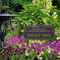 Whitehall Butterfly Rose Quote Personalized Garden & Lawn Plaque - James Anthony Collection