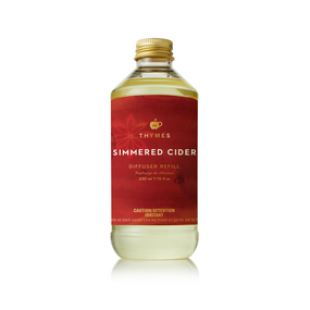 Thymes Simmered Cider Reed Diffuser Oil Refill (tyms-0530800100) | James Anthony Collection