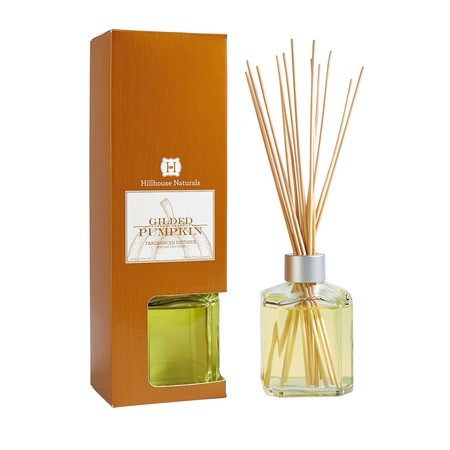 Hillhouse Naturals Gilded Pumpkin Diffuser | James Anthony Collection