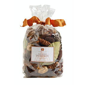 Hillhouse Naturals Gilded Pumpkin Potpourri | James Anthony Collection