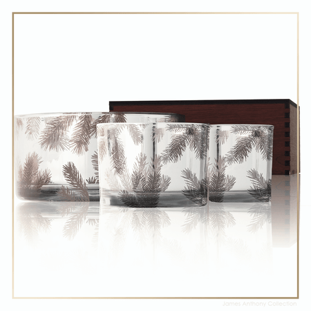 Thymes Frasier Fir Statement Collection Large Candle Trio | James Anthony Collection