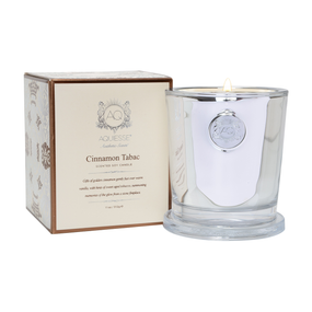 Aquiesse Cinnamon Tabac  Large Candle | James Anthony Collection