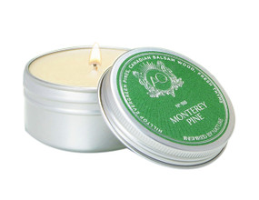 Aquiesse Monterey Pine Travel Tin Candle | James Anthony Collection
