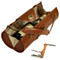 Picnic at Ascot Wine Purse in Brown | James Anthony Collection
