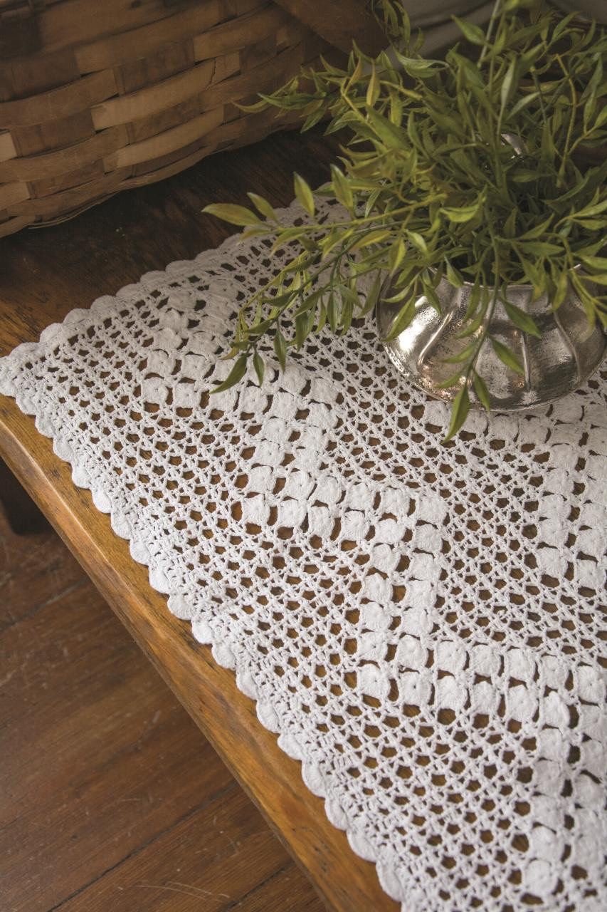 Blue Ribbon Crochet Tabletop Collection -