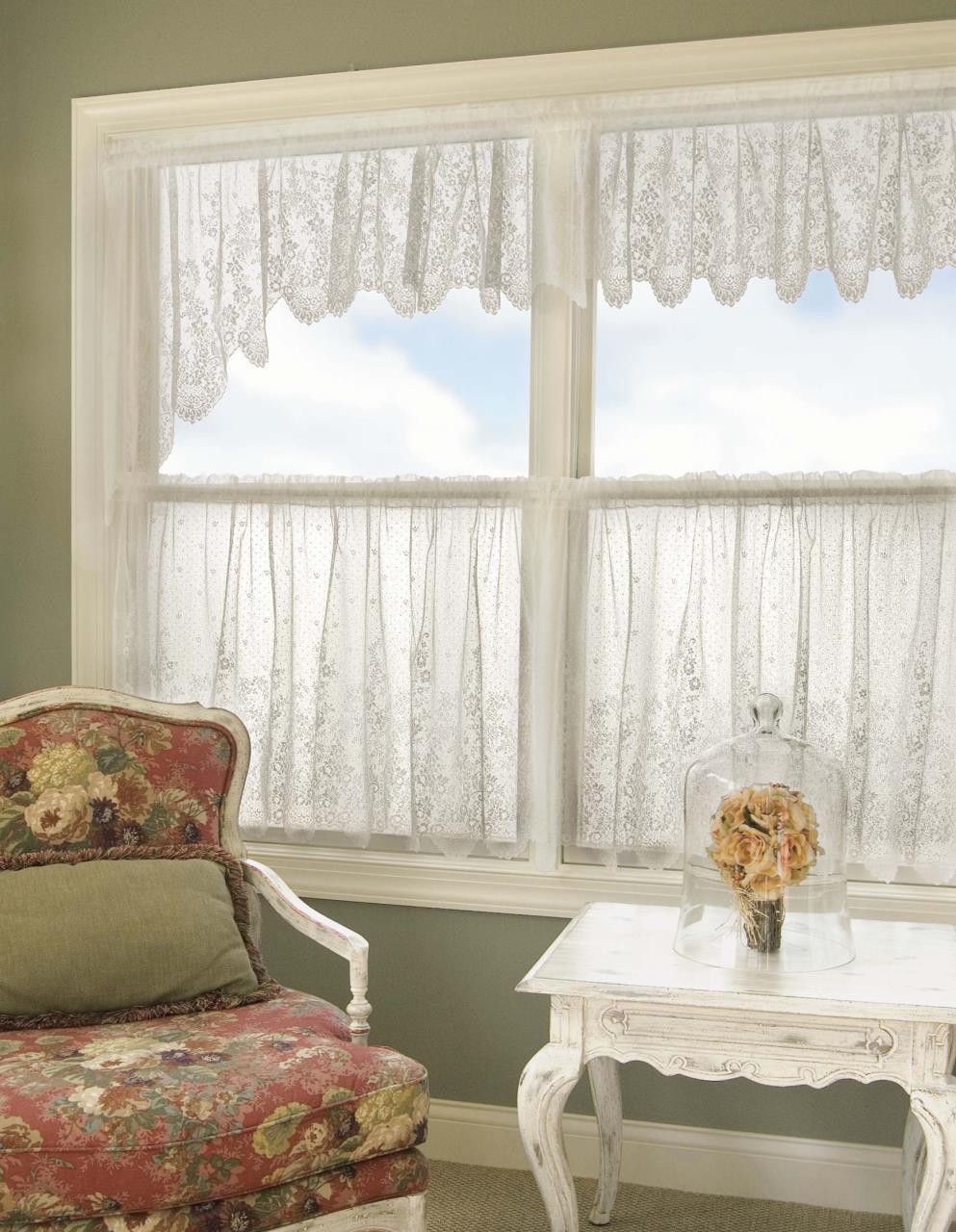 Floret Lace Curtain Collection -