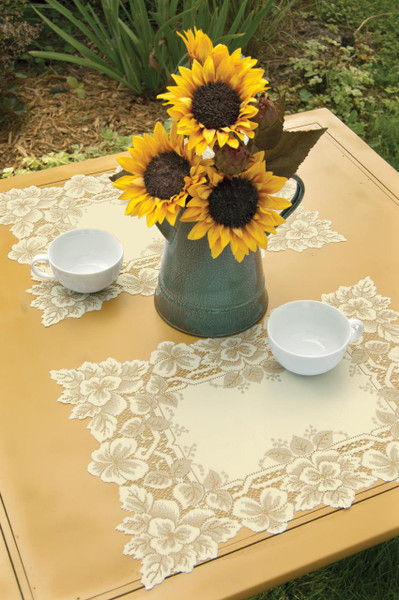 Heirloom Lace Tabletop Collection -