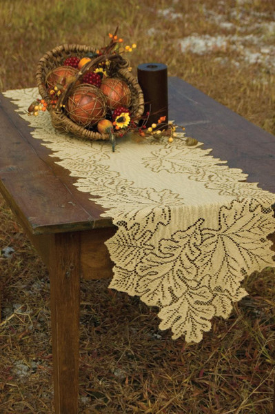 Leaf Tabletop Lace Collection -