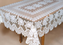 Rose Tablecloth - 734573667819