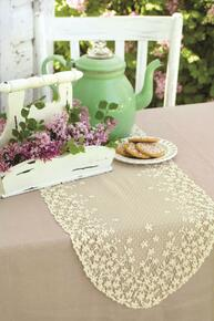 Blossom Lace Table Runner - 734573093649