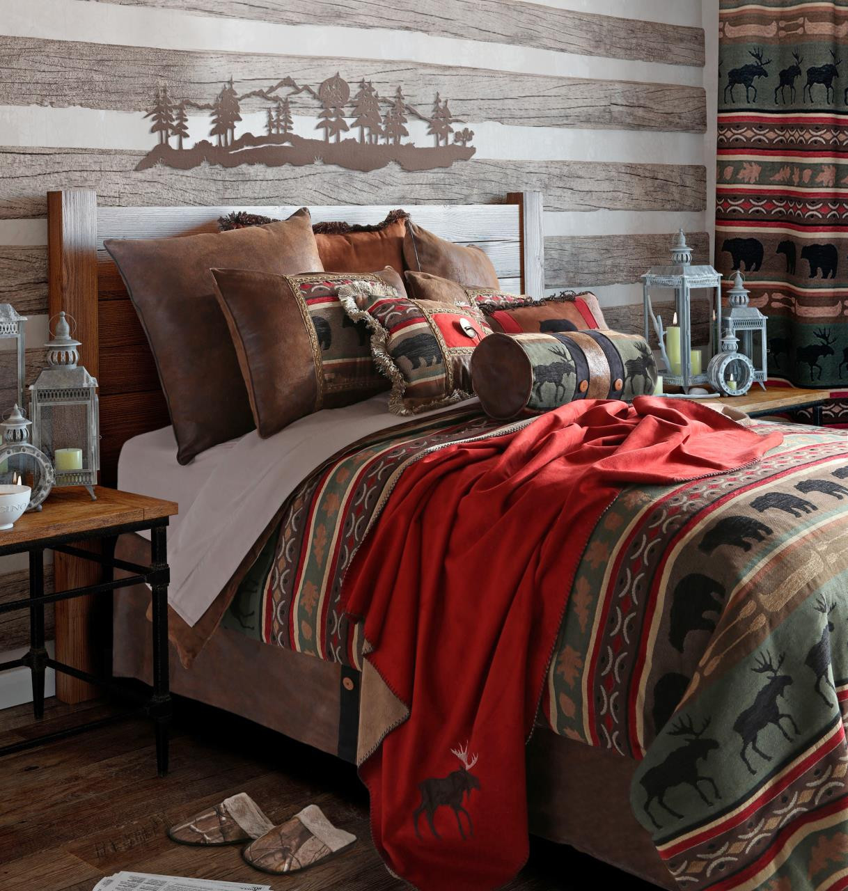 Backwoods Bedding Collection -