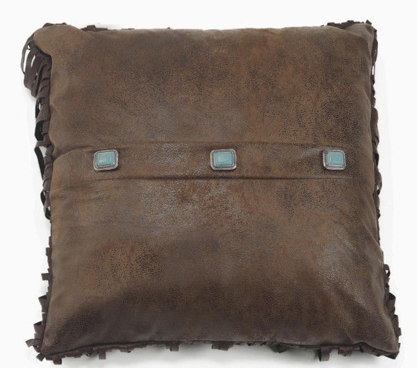3-Turquoise Concho Pillow - 035731121670