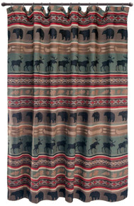 Backwoods Shower Curtain - 035731121540