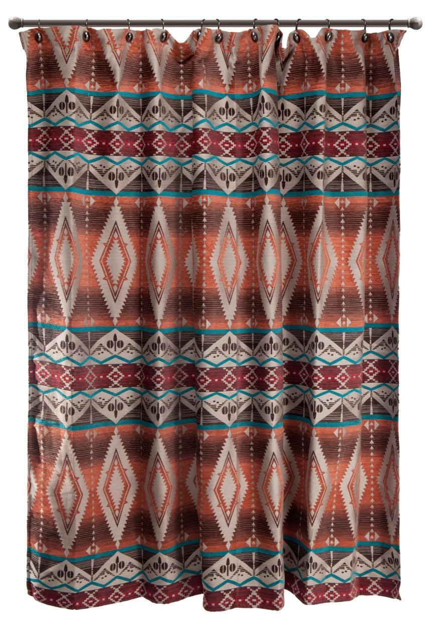 Mojave Sunset Shower Curtain - 035731121311