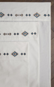 Southwest Embroidered Sheets - 035731126743