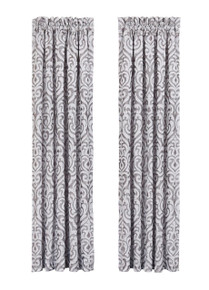 Luxembourg Silver Curtains - 846339032103