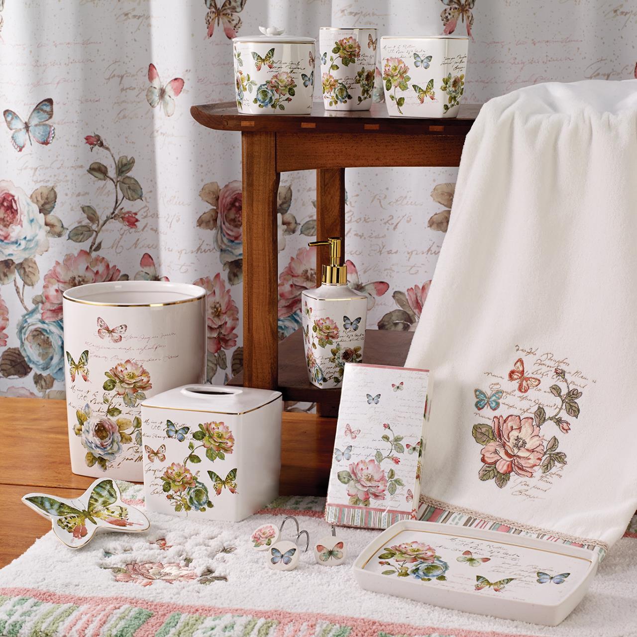 Butterfly Garden Bath Collection -