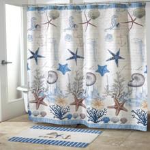 Antigua Shower Curtain - 021864315109