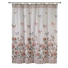 Butterfly Garden Shower Curtain - 021864360888