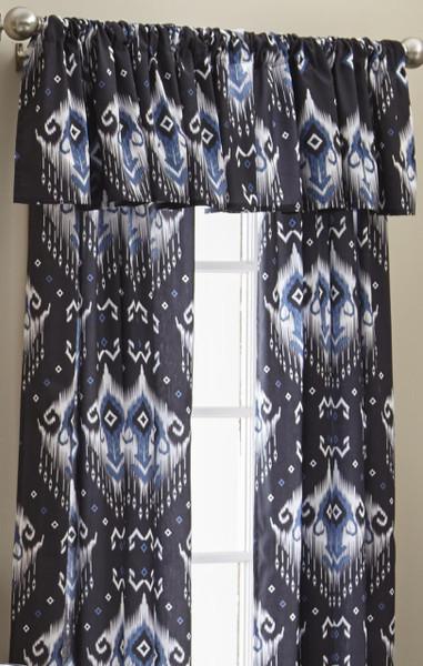 Blue Falls Curtain Panel - 626300311495