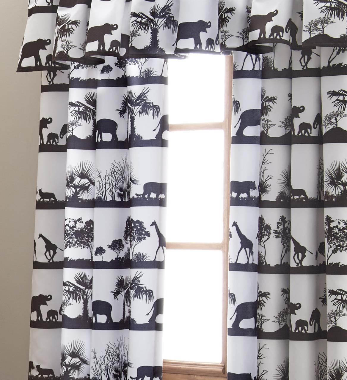 African Safari Curtain Panel - 626300115758