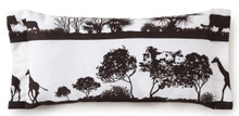 African Safari Long Rectangle Pillow - 626300115741