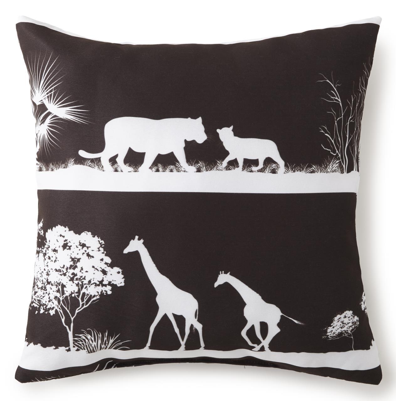 """African Safari 18"""" Square Pillow - 626300115727"""