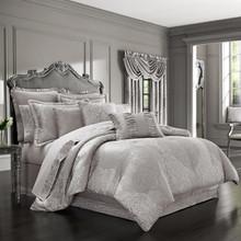 La Scala Silver Comforter Set - 846339085604
