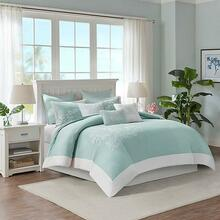 Coastline Aqua Bedding Collection -