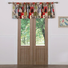 Rustic Lodge Window Valance - 636047345356