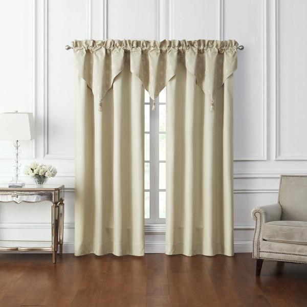 Annalise Gold Curtains - 038992921836