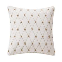 """Annalise Gold 14"""" Pillow - 038992921799"""