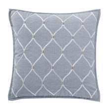 "Florence Chambray Blue 18"" Pillow - 038992921683"