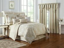 Annalise Gold Comforter Set - 038992921768