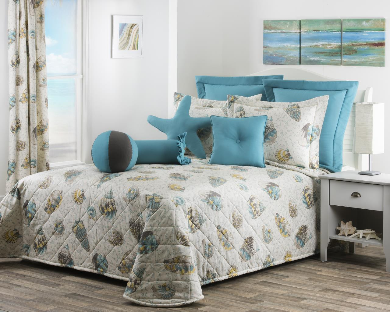 Seaside Treasures Caribbean Bedding Collection -