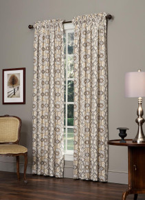Izmir Rod Pocket Curtains - 013864106801