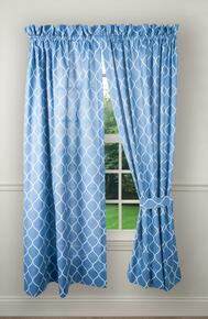 Trellis Curtains & Valance - 730462128867