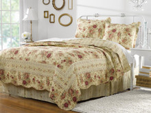 Antique Rose Quilt Collection -