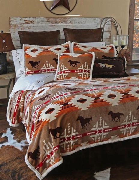 Free Rein Coverlet Collection -