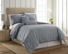 Linen True Blue Quilt Collection -