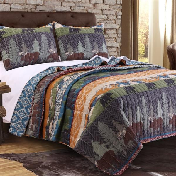 Black Bear Lodge Quilt Collection -