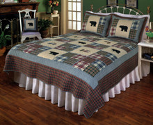 Smoky Mountain Bear Quilt - 754069838042