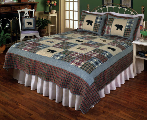 Smoky Mountain Bear Quilt Collection -