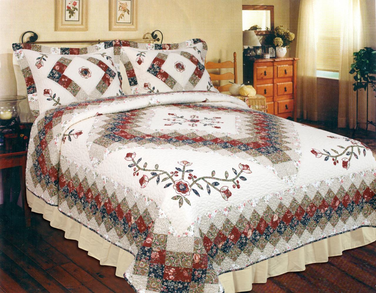 Victorian Treasure Quilt - 637173730689