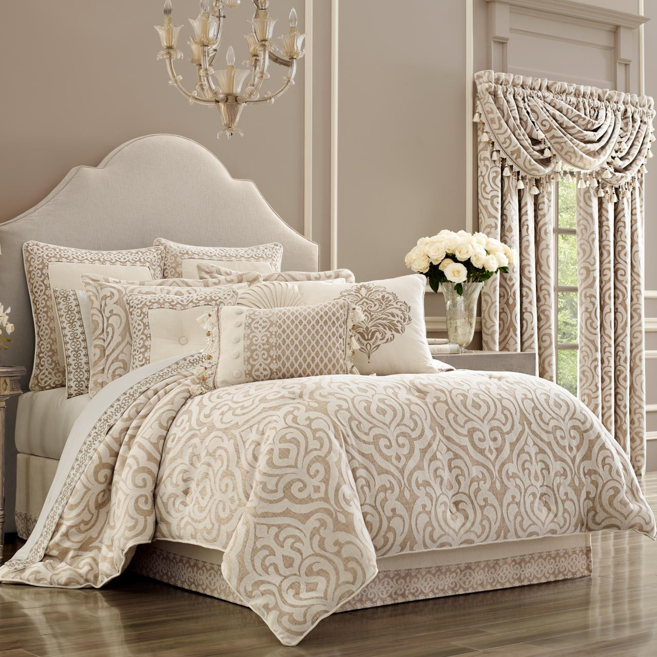 Milano Sand Comforter Collection -