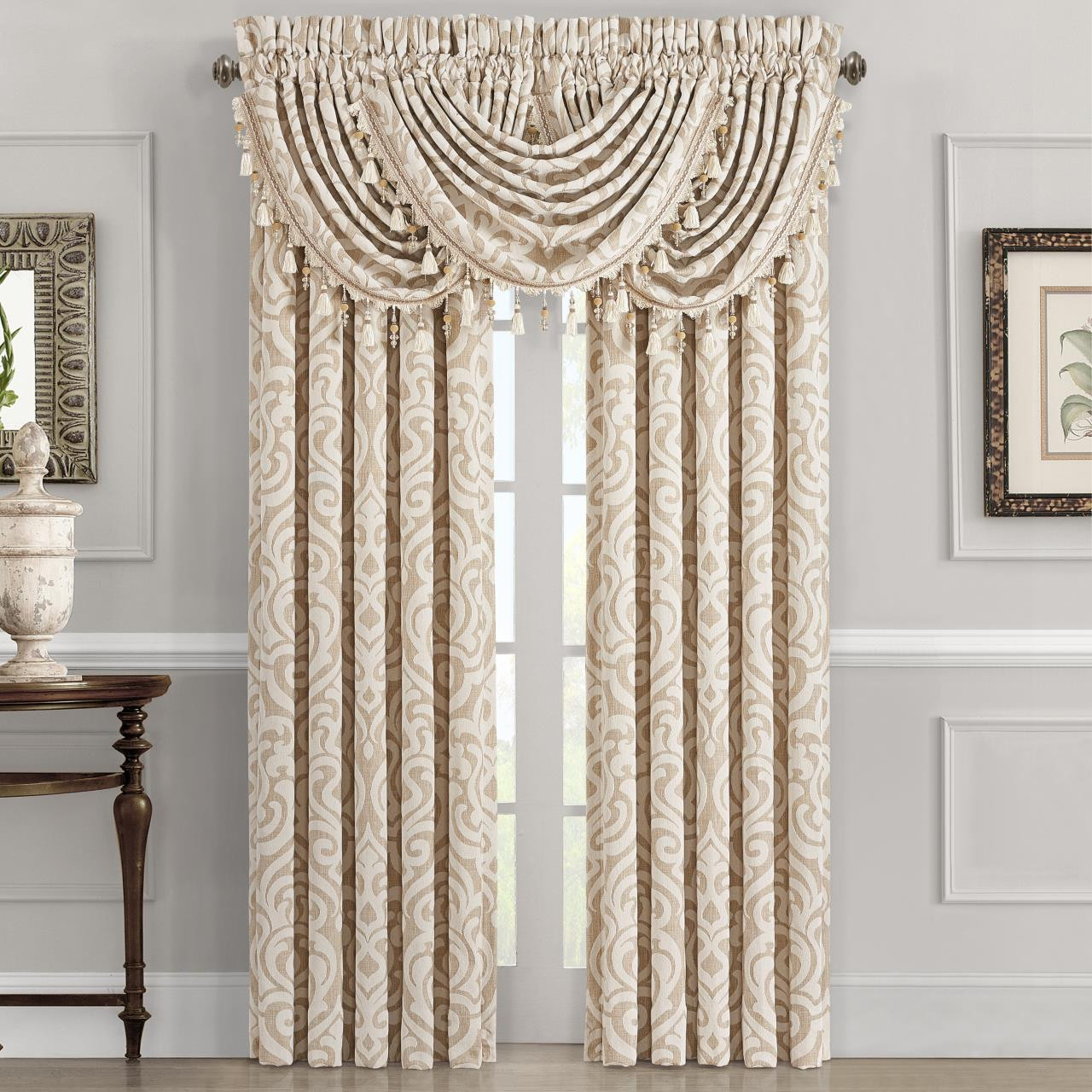 Milano Sand Curtains - 846339088285