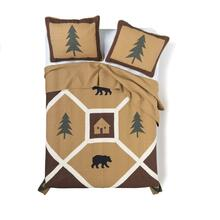 Bear Pyramid Quilt Collection -